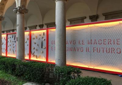"""Fuorisalone di Milano """"La basilica di S. Benedetto: un progetto europeo per la ricostruzione"""" 19 aprile 2018"""