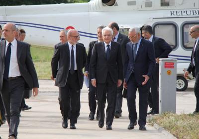 Visita del Presidente della Repubblica Sergio Mattarella
