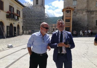 17 luglio 2018 Castelluccio Visita delegazione Commissione europea