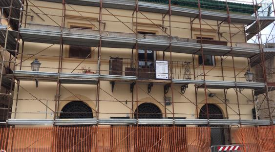 Cantiere della ricostruzione post-sisma 2016
