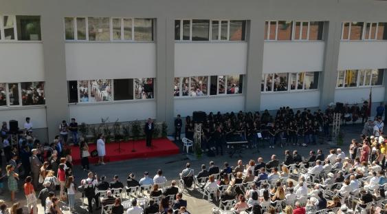 Foligno - Inaugurazione nuova scuola 'Carducci'