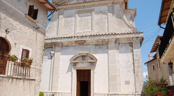 Chiesa di Usigni, comune di Poggiodomo (Perugia)