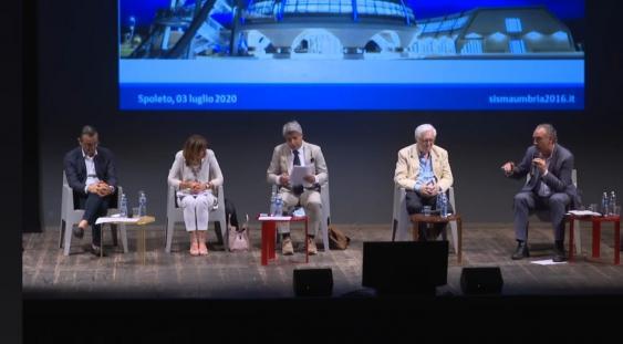 Spoleto, palco Teatro Nuovo: Nodessi, Tesei, Marziani, de Augustinis, Legnini